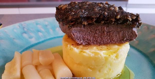 Biggi`s Fleisch = Lammlachse mit einer Korriander Nusskruste - Rezept - Bild Nr. 7211
