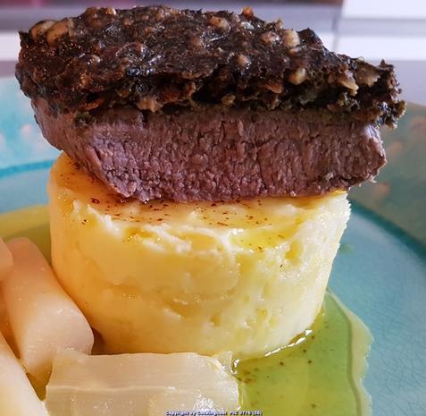 Biggi`s Fleisch = Lammlachse mit einer Korriander Nusskruste - Rezept - Bild Nr. 7213