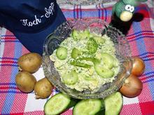 Allround-Kartoffelsalat mit Bratfisch - Rezept - Bild Nr. 7195