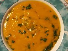 Süßkartoffel - Ingver - Süppchen - Rezept - Bild Nr. 7198