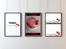 Marmor Kuchen-Herz nett zurecht gemacht - Rezept - Bild Nr. 7199