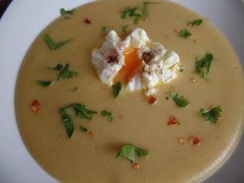 Kartoffel-Erbsen-Suppe mit Ei - Rezept - Bild Nr. 7276