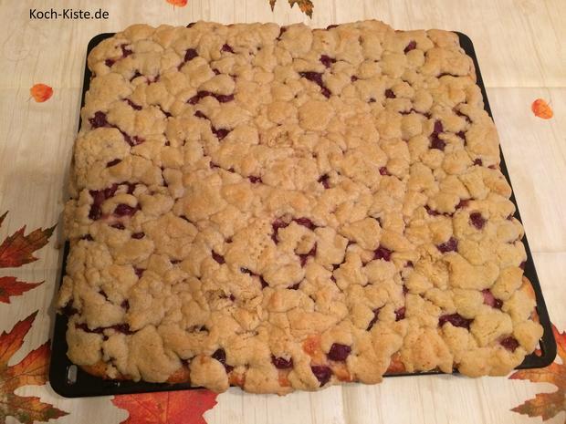 Kirsch-Kuchen mit besonderer Streuselschicht - Rezept - Bild Nr. 7292