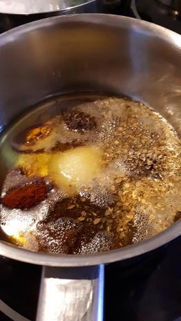 Kicher-Schnitzel, Röstkartoffeln und Curry-Lauch - Rezept - Bild Nr. 7577
