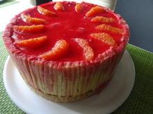 Blutorangen-Käse-Sahne-Torte - Rezept - Bild Nr. 7549