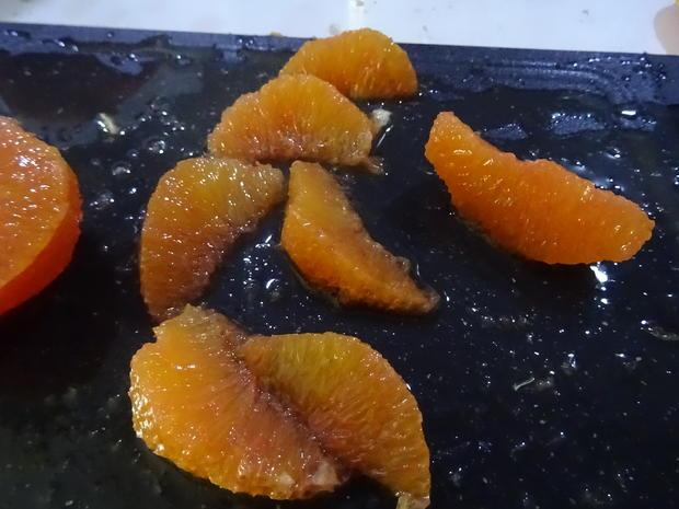 Blutorangen-Käse-Sahne-Torte - Rezept - Bild Nr. 7570