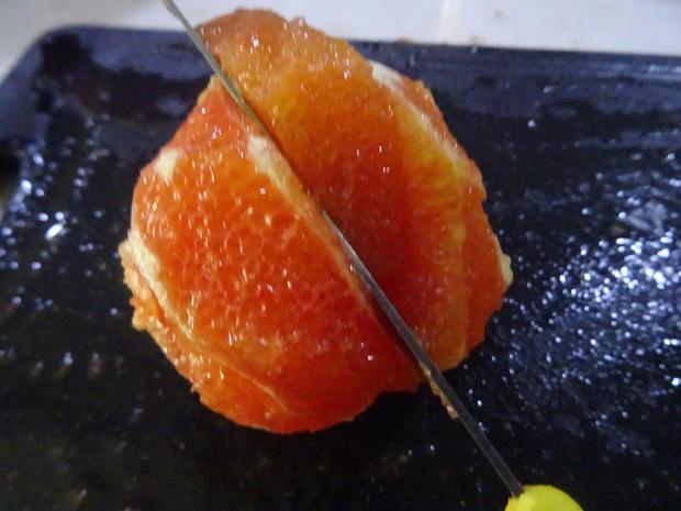 Blutorangen-Käse-Sahne-Torte - Rezept - Bild Nr. 7571