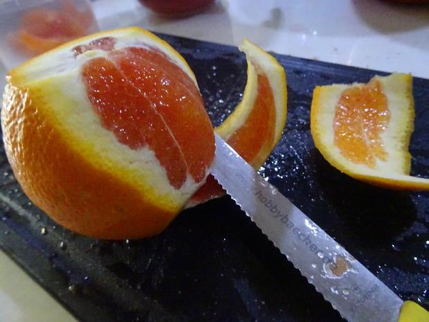 Blutorangen-Käse-Sahne-Torte - Rezept - Bild Nr. 7572