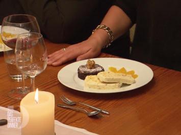 Mandel-Parfait mit kleiner Tarte au Chocolat - Rezept - Bild Nr. 2