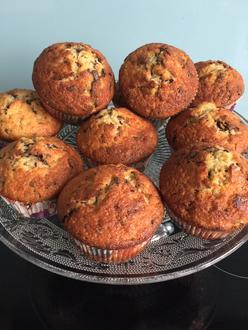 Bananen-Schoko-Nuss-Muffins - Rezept - Bild Nr. 2
