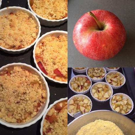 Apple Crumble - Apfel Streusel Auflauf - Dessert oder süße Hauptspeise  - Rezept - Bild Nr. 7566