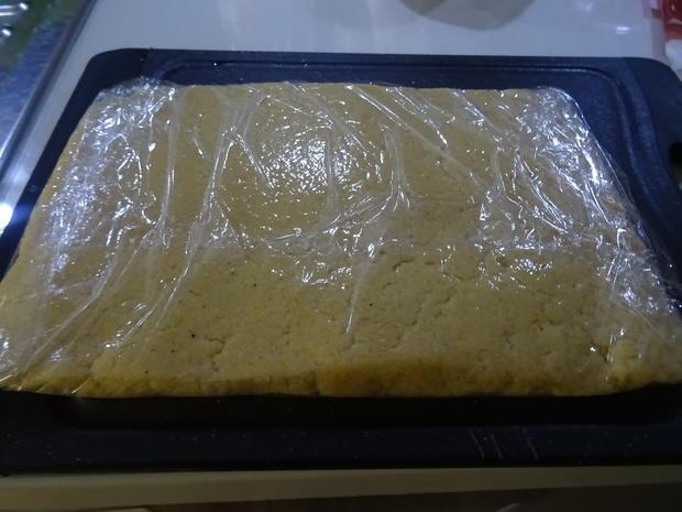 Kalbs-Involtini, Parmesan-Soße und Polenta-Sticks - Rezept - Bild Nr. 7578