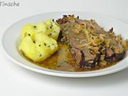 Rinderbrust geschmort in Cidre mit Meerrettich-Apfel-Kruste - Rezept - Bild Nr. 6