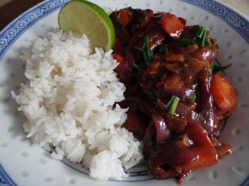 Asia-Wok mit Schweinefilet - Rezept - Bild Nr. 7587