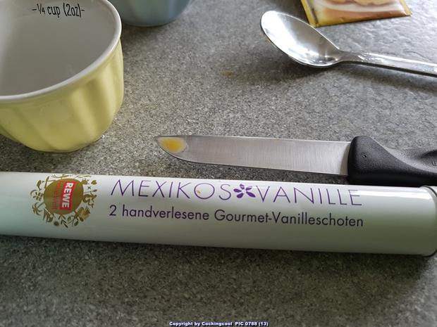 Puddingschnitten mit selbst hergestelltem Eierlikör - Rezept - Bild Nr. 7597