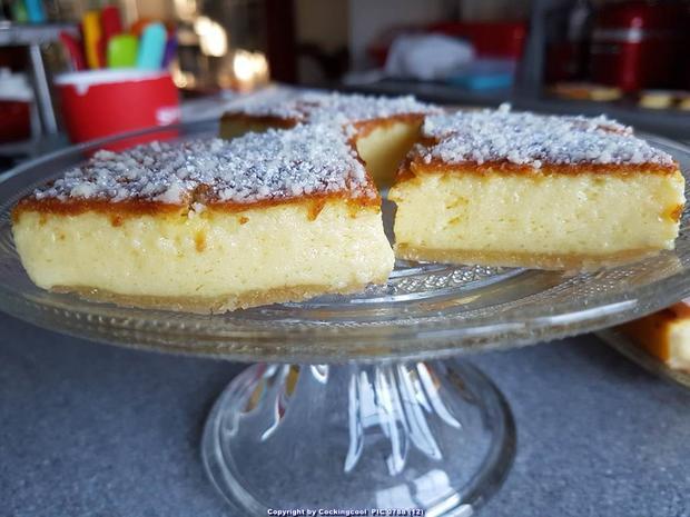 Puddingschnitten mit selbst hergestelltem Eierlikör - Rezept - Bild Nr. 7607