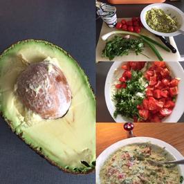 Guacemole - einfach, schnell - low carb - gesund und trotzdem lecker - Rezept - Bild Nr. 7593