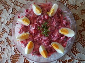 Rezept: Mein roter Matjessalat