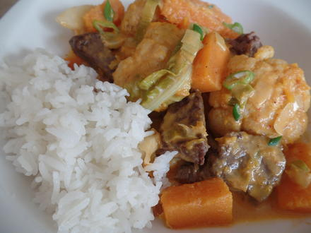 Rindfleisch-Gemüse-Curry - Rezept - Bild Nr. 7609