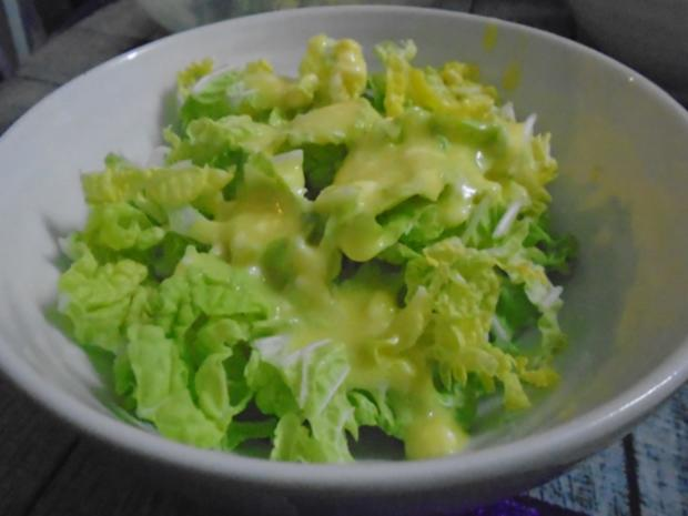 Chinesische Bratnudeln mit Knusper-Schnitzelchen und Chinakohl Salat - Rezept - Bild Nr. 26