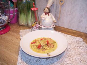 Eine schnelle Suppe , einfach was ich gerade da hatte - Rezept - Bild Nr. 7617