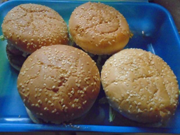 Burger einfach selbst hergestellt - Rezept - Bild Nr. 3