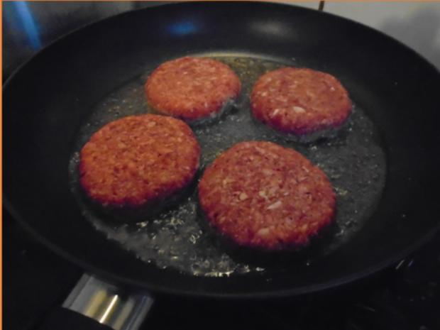 Burger einfach selbst hergestellt - Rezept - Bild Nr. 10