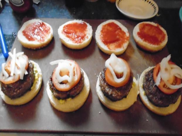 Burger einfach selbst hergestellt - Rezept - Bild Nr. 14