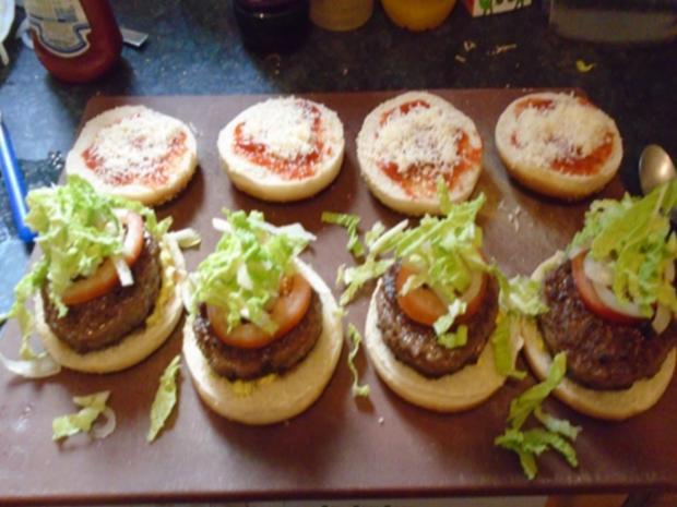 Burger einfach selbst hergestellt - Rezept - Bild Nr. 16