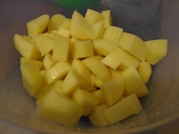 Baby-Spinat mit Spiegelei und Kartoffeln - Rezept - Bild Nr. 10