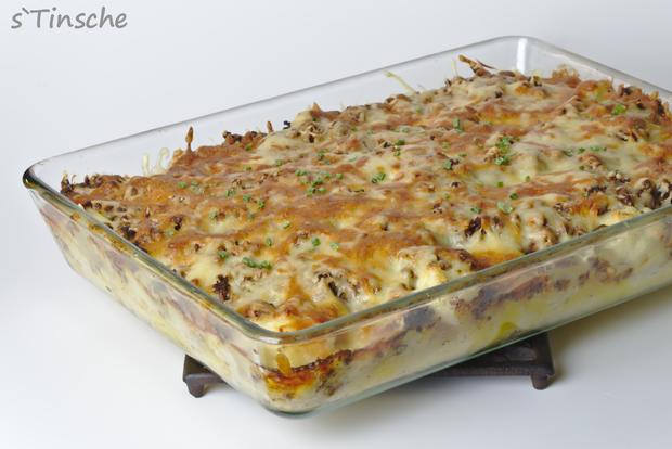 Blumenkohl-Kartoffel-Hack-Auflauf - Rezept - Bild Nr. 7622
