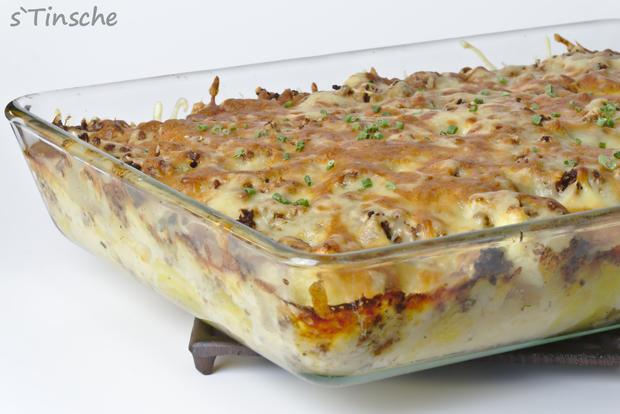 Blumenkohl-Kartoffel-Hack-Auflauf - Rezept - Bild Nr. 7623