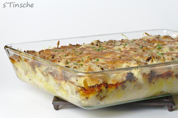 Blumenkohl-Kartoffel-Hack-Auflauf - Rezept - Bild Nr. 7624