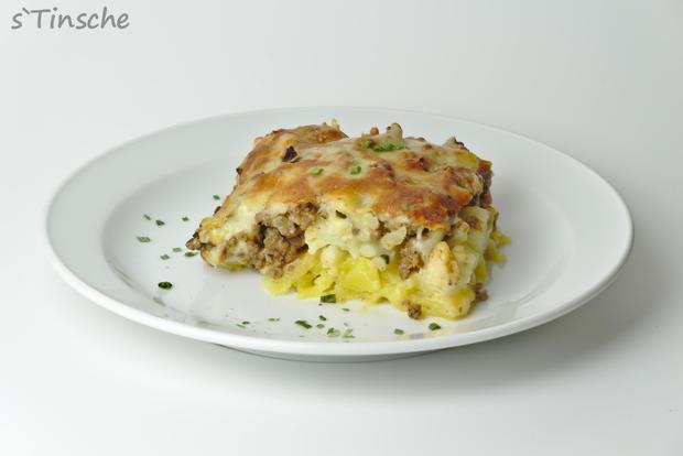 Blumenkohl-Kartoffel-Hack-Auflauf - Rezept - Bild Nr. 7625