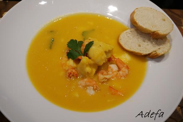 Cremige Fischsuppe - Rezept - Bild Nr. 7618