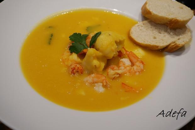 Cremige Fischsuppe - Rezept - Bild Nr. 7620