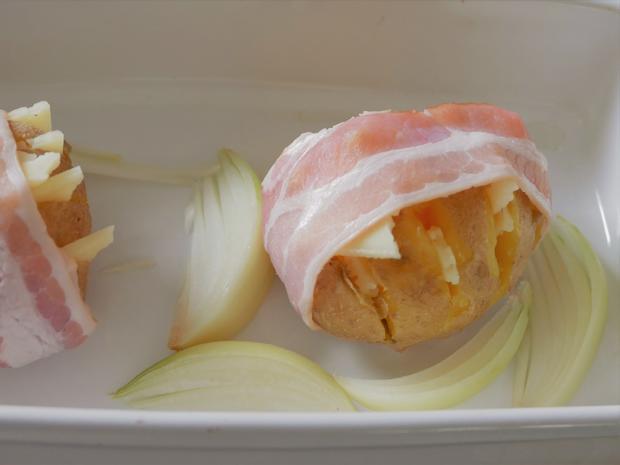 Hasselback Kartoffeln - Rezept - Bild Nr. 7618