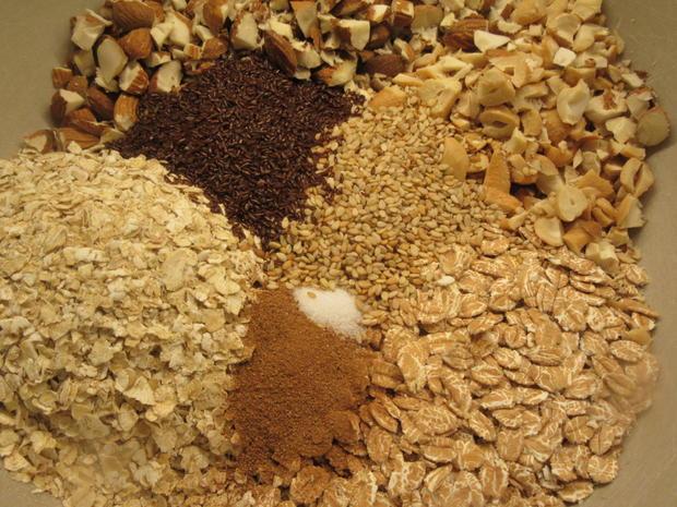 Vorrat: Knuspercrunch für Müsli & Co - Rezept - Bild Nr. 7618