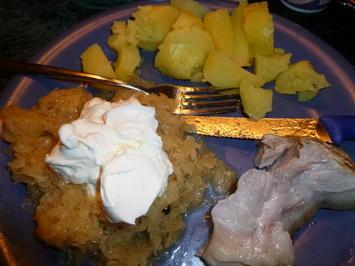 Eisbein mit Ananas-Sauerkraut - Rezept - Bild Nr. 7620
