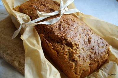 Rezept: saftiges Kürbis-Brot