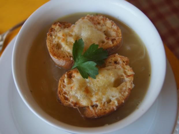 Französische Zwiebelsuppe - Rezept - Bild Nr. 7644