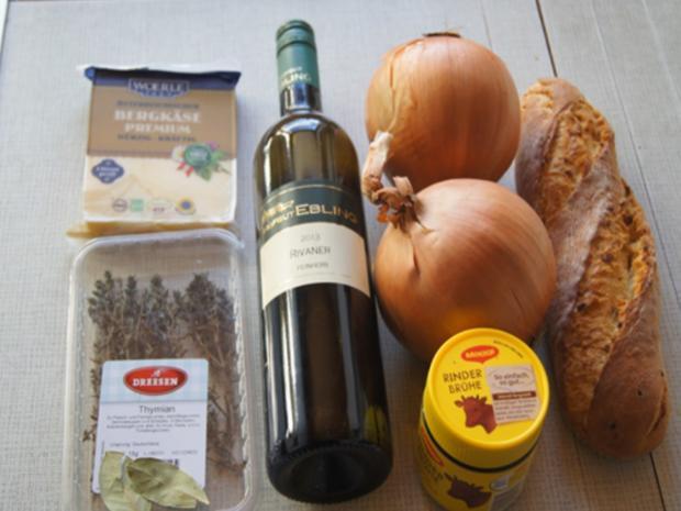 Französische Zwiebelsuppe - Rezept - Bild Nr. 7645