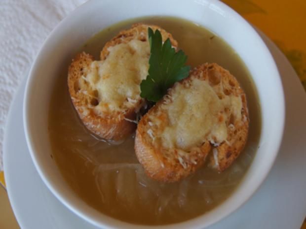 Französische Zwiebelsuppe - Rezept - Bild Nr. 7657
