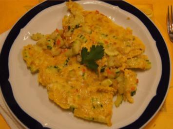 Herzhaftes Zucchini-Omelett - Rezept - Bild Nr. 2