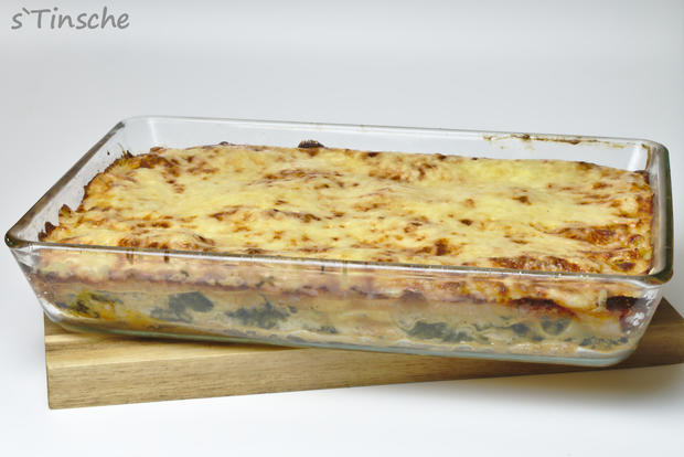 Lachs-Spinat-Lasagne - Rezept - Bild Nr. 7657