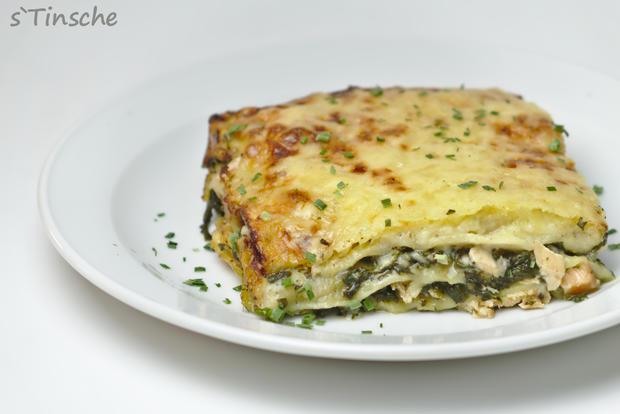Lachs-Spinat-Lasagne - Rezept - Bild Nr. 7661