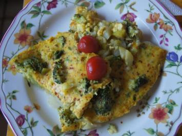 Rezept: Gemüsereste-Omelett