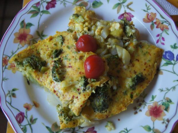 Gemüsereste-Omelett - Rezept - Bild Nr. 2