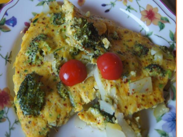Gemüsereste-Omelett - Rezept - Bild Nr. 4