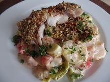 Rotbarschfilet auf Kartoffel-Lauch-Gemüse - Rezept - Bild Nr. 7688